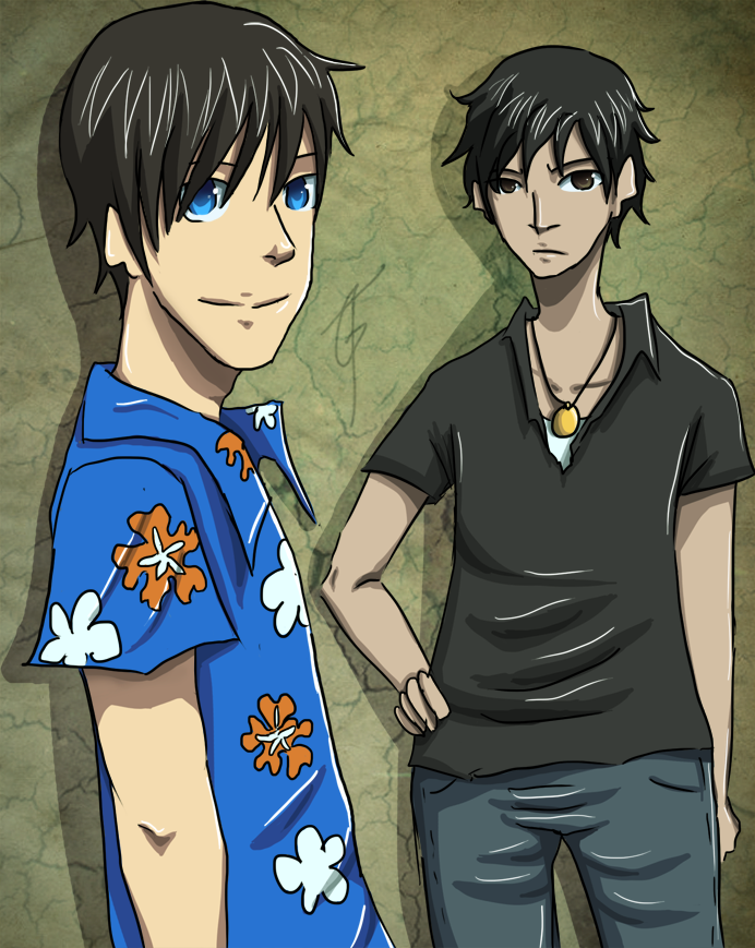 Nick and Caleb by goldenthyme on DeviantArt