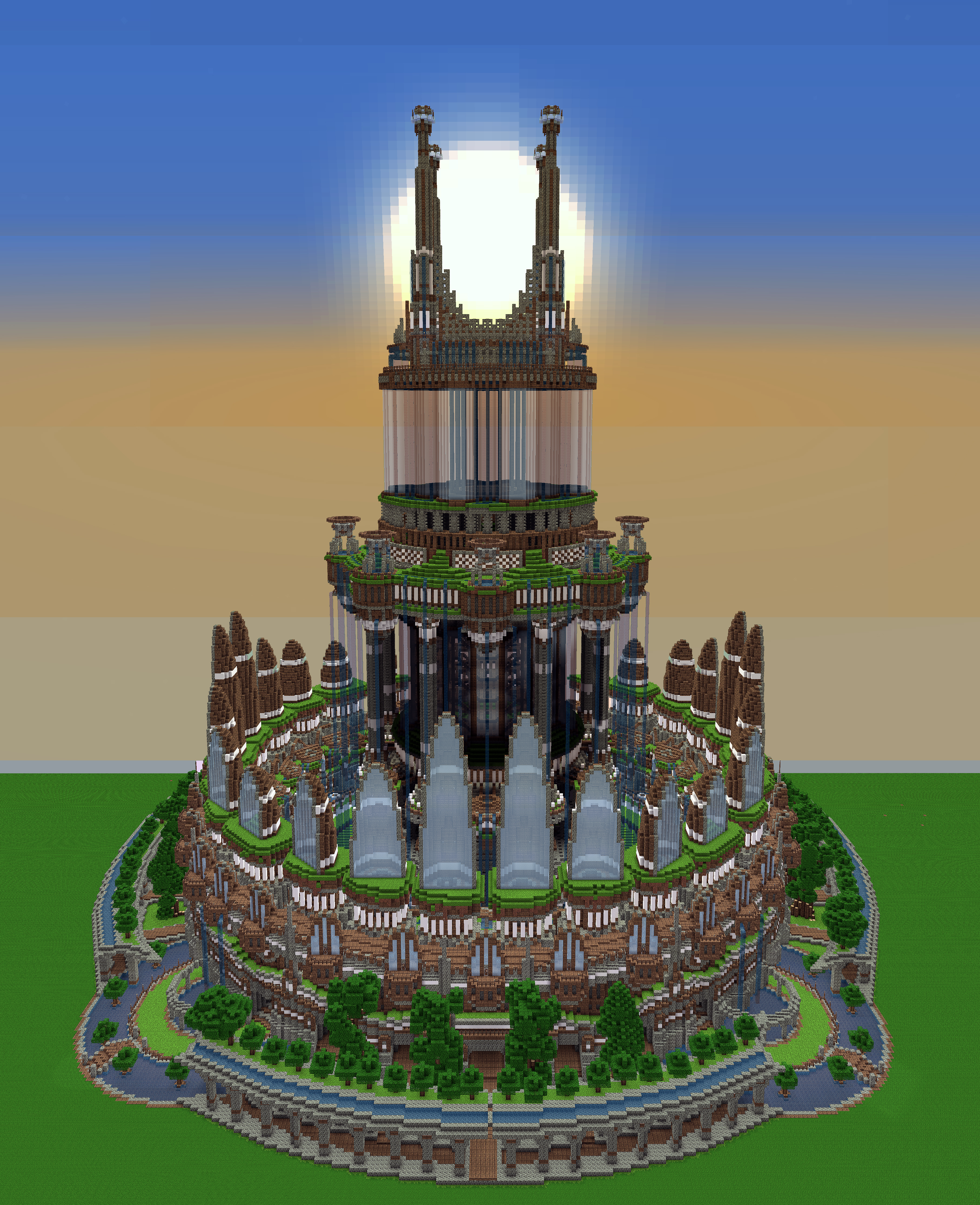 Ornamented Tower By Haikuo On DeviantArt