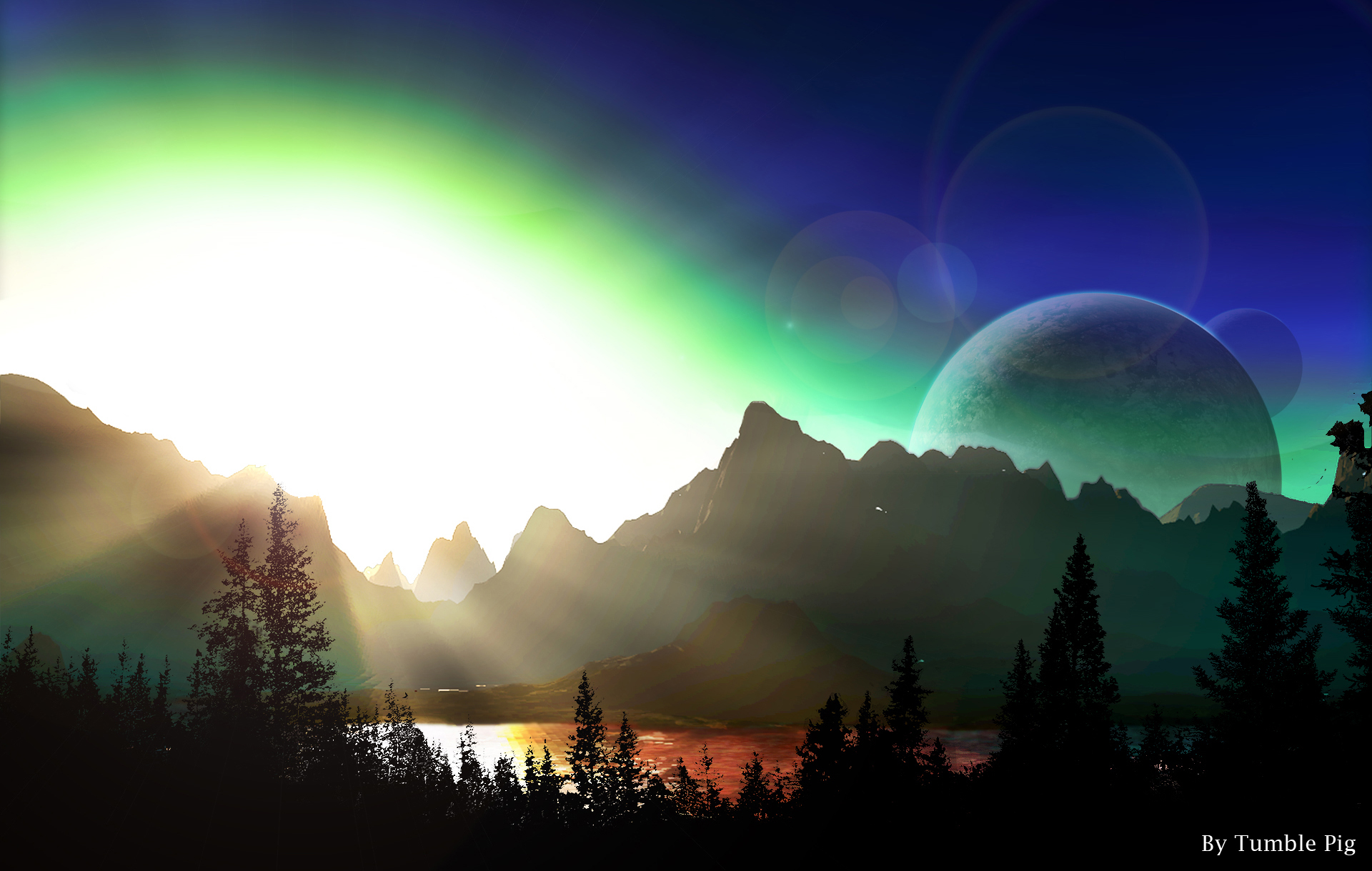 Cloudless Dawn