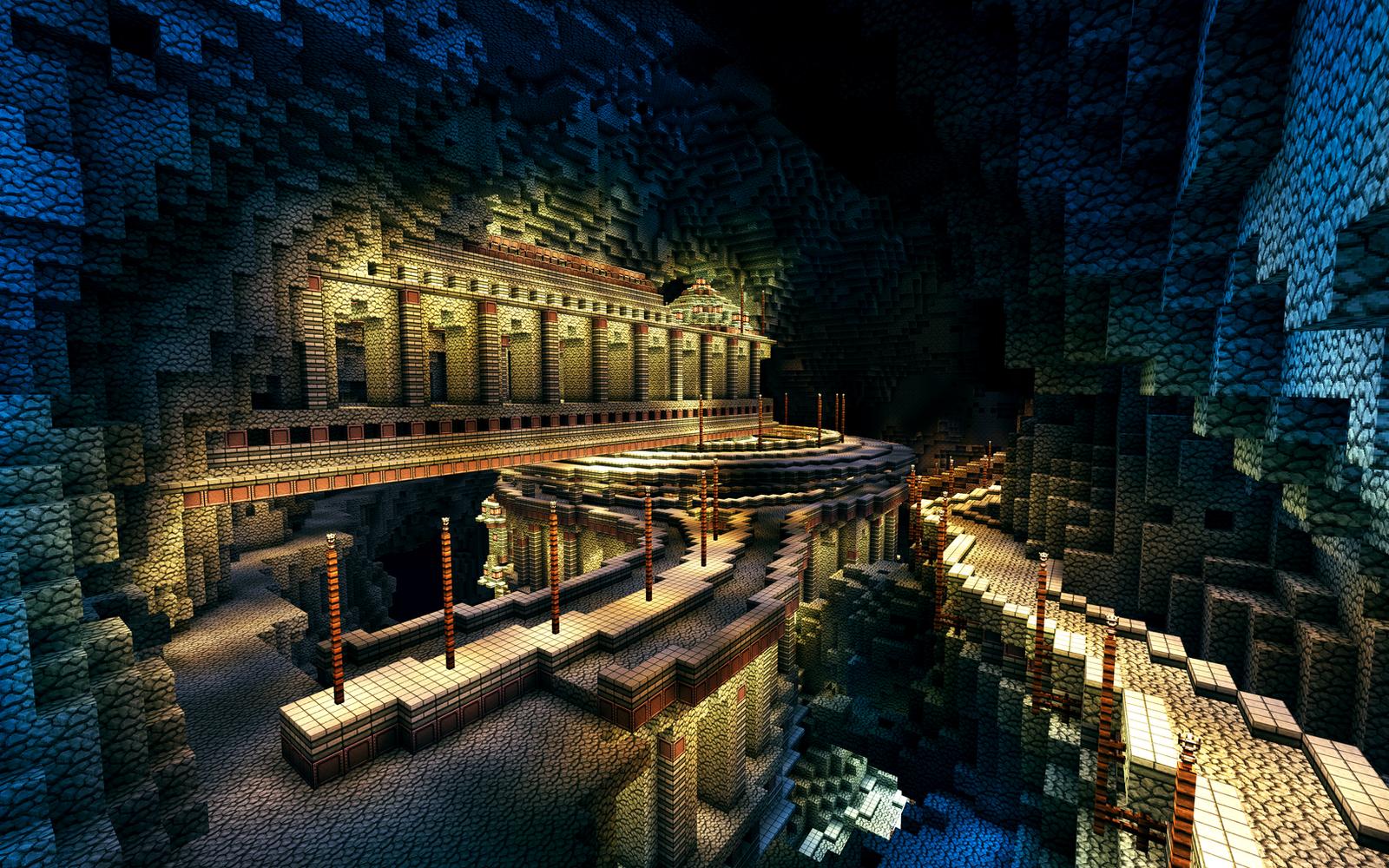 Cavern city 2 by haikuo