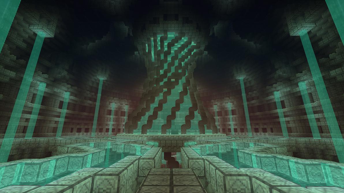 Voxelnauts: Water Shrine by haikuo