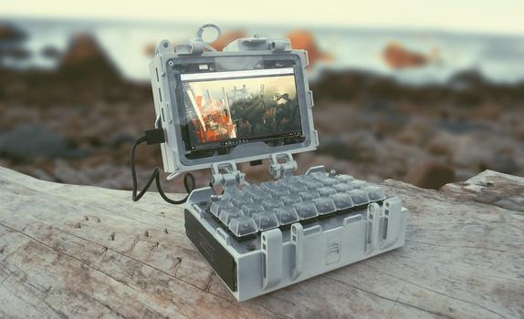 Digital Sketchbook - handheld laptop build
