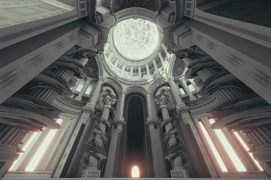 St Ecclesia's Basilica by haikuo