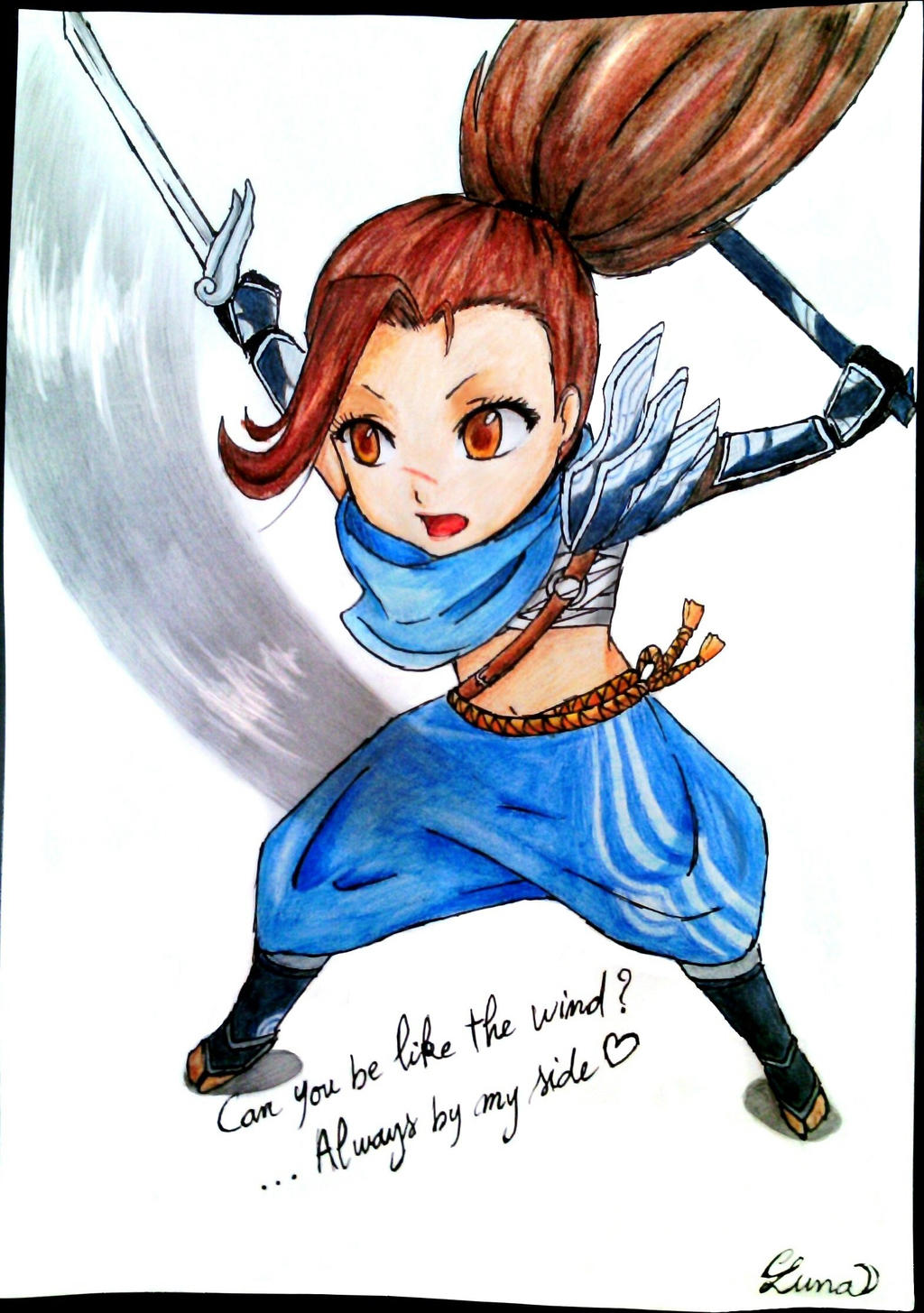 Chibi Yasuo Gender Bender By Lunalilia