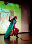 Golden Age Catwoman cosplay at Comicdom Con by ElenaTria