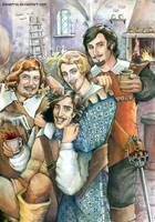 The Three Musketeers: Momentum by ElenaTria