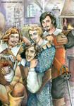 The Three Musketeers: Momentum