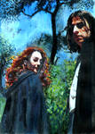 Severus Snape + Lily Evans