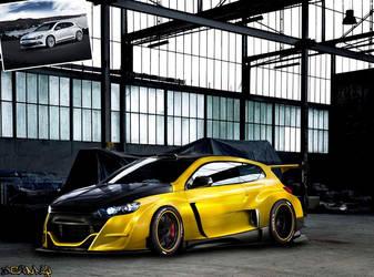 Volkswagen Scirocco R by Johnny-Designer