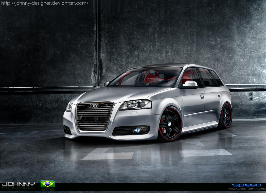 audi a3 sportback by johnny designer on deviantart. Black Bedroom Furniture Sets. Home Design Ideas