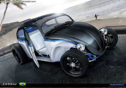Fusca Hot Rod - full brush -