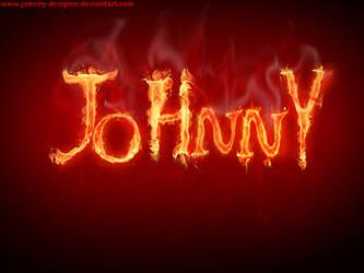 JoHnnY flame by Johnny-Designer