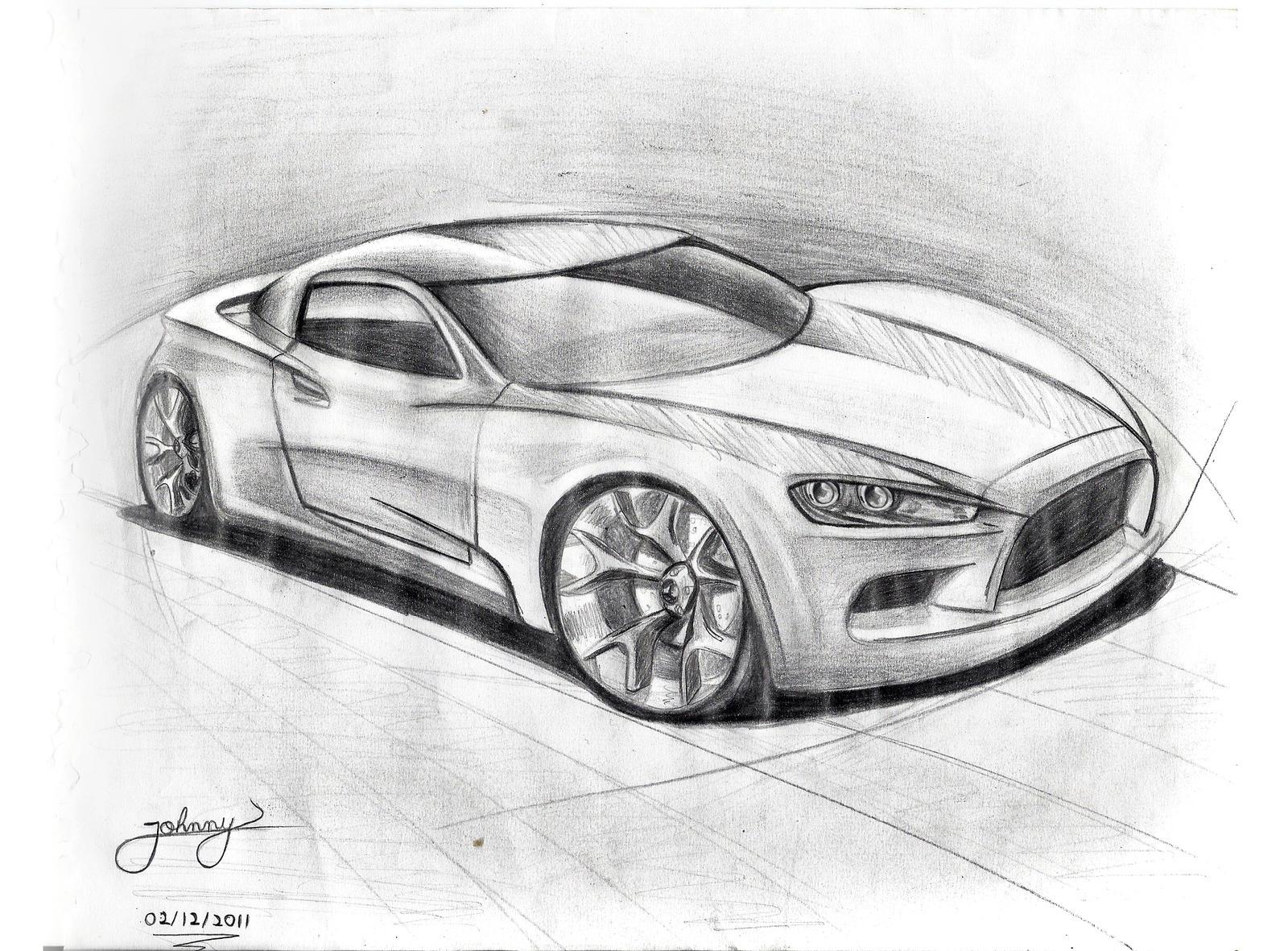 By JoHnnY Car Sketch Johnny Designer On DeviantArt