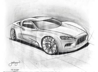 By JoHnnY - Car sketch by Johnny-Designer