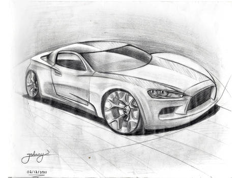 By JoHnnY - Car sketch
