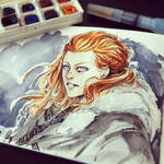 Game of Thrones - Ygritte by le-coin-de-matt