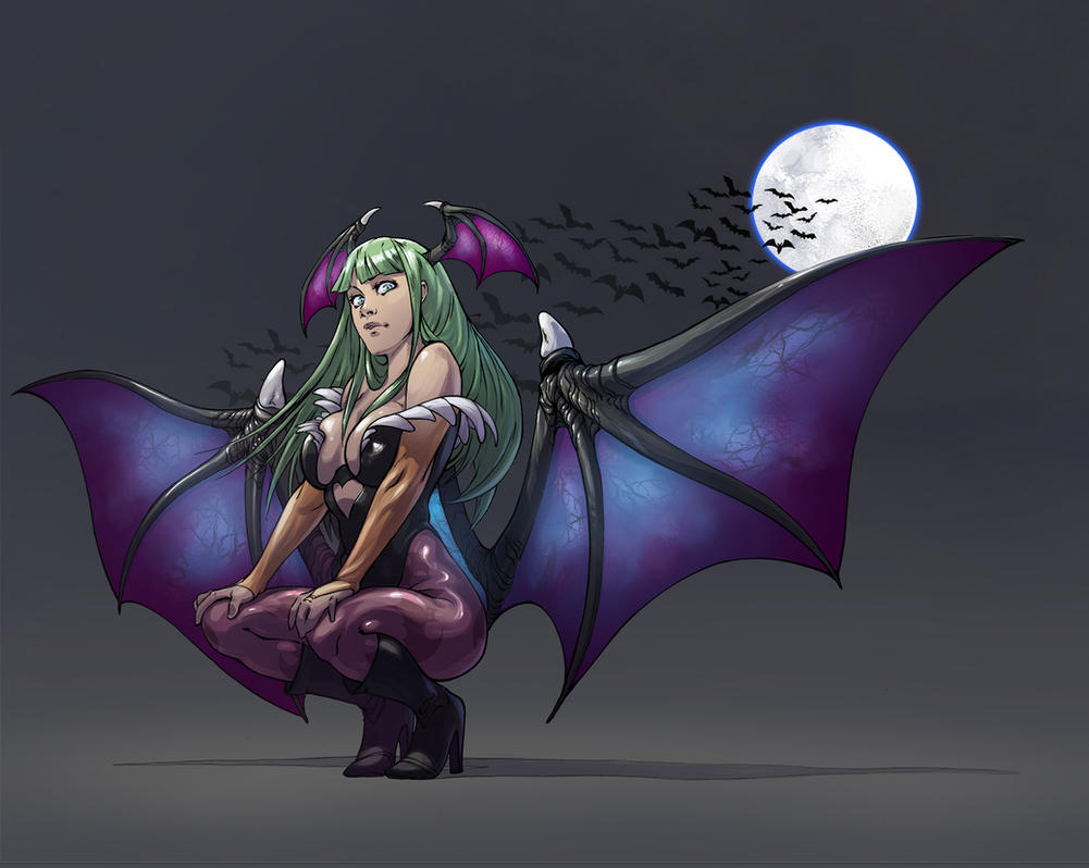Morrigan by le-coin-de-matt