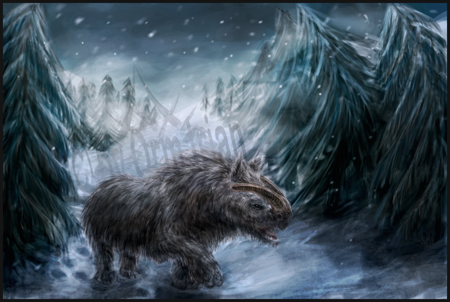 Wandering Alone by OrmIrian on DeviantArt