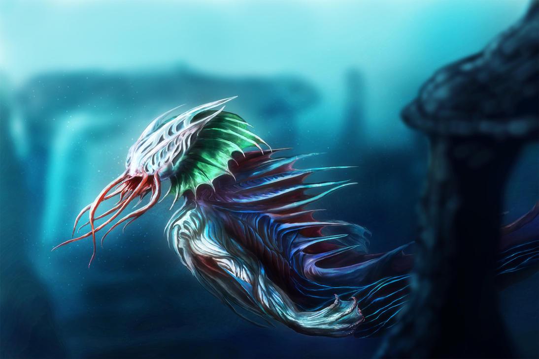 Sea Creature by OrmIrian