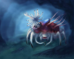 Pale Sea Devil by OrmIrian