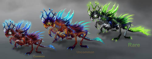 Manteon - Color Variations