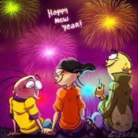Happy New Year by LizheruBones