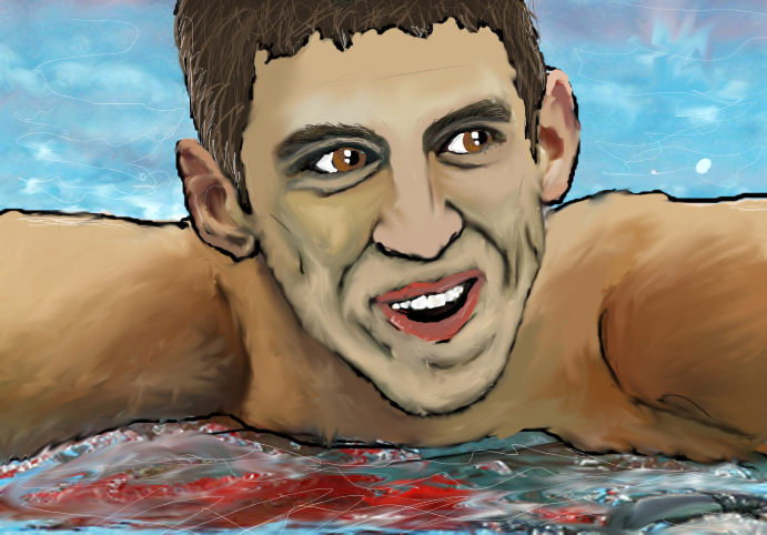 Michael Phelps by IlluminatiOfTwilight