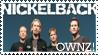 Nickelback Stamp by IlluminatiOfTwilight