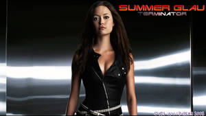 Summer Glau T-100 WS 1360x768