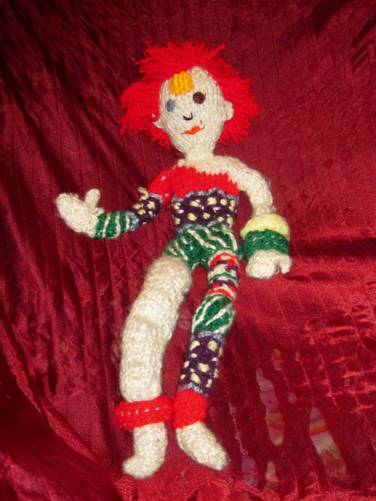 Ziggy Stardust Knit Doll By Selahjanel On Deviantart