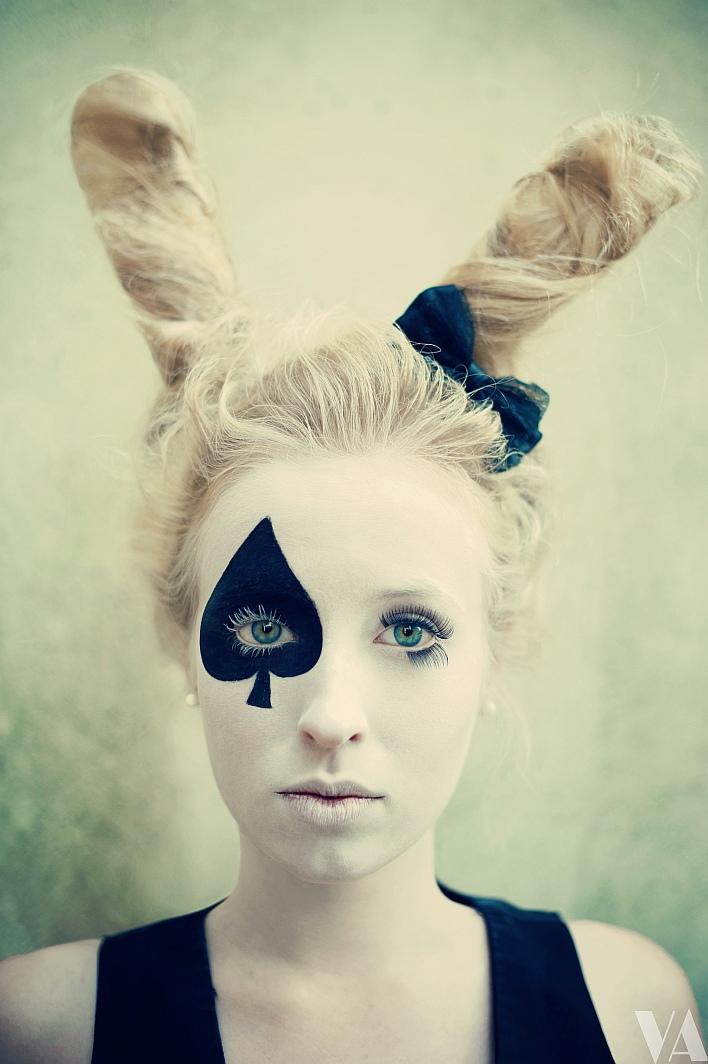 Ideas, Bunnies Ears, Red Hair, Halloween Costumes, White ...