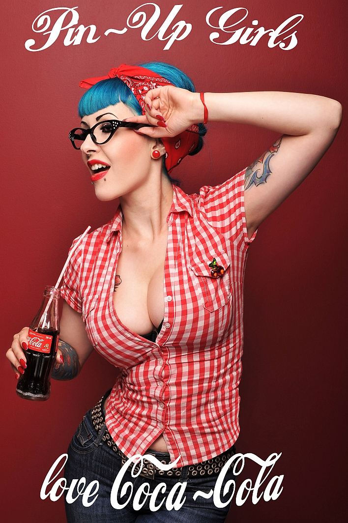 Famoso pin up girls love coca cola by Voodica on DeviantArt GI06