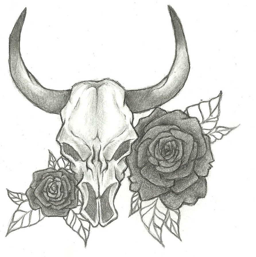 Bullhead Tattoo by lolitsme202 on DeviantArt