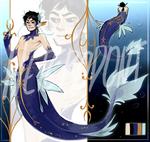 (CLOSED) Lazuli Mermaid Auction