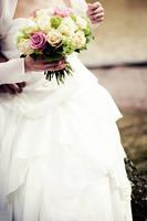 Wedding Portrait: detail by timeisatraveller