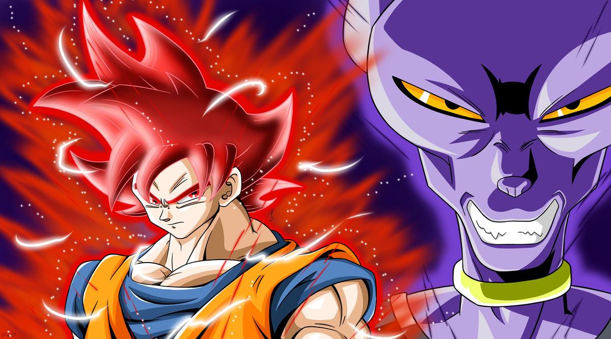 Goku Ssj4 Vs Goku Ssj3: Goku Ssj God Vs Beerus By FenixArt90110 On DeviantArt