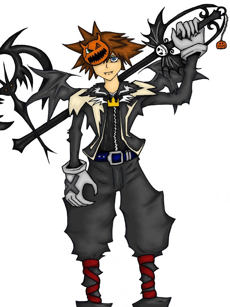 halloween town sora by lisca - Roxas Halloween Town