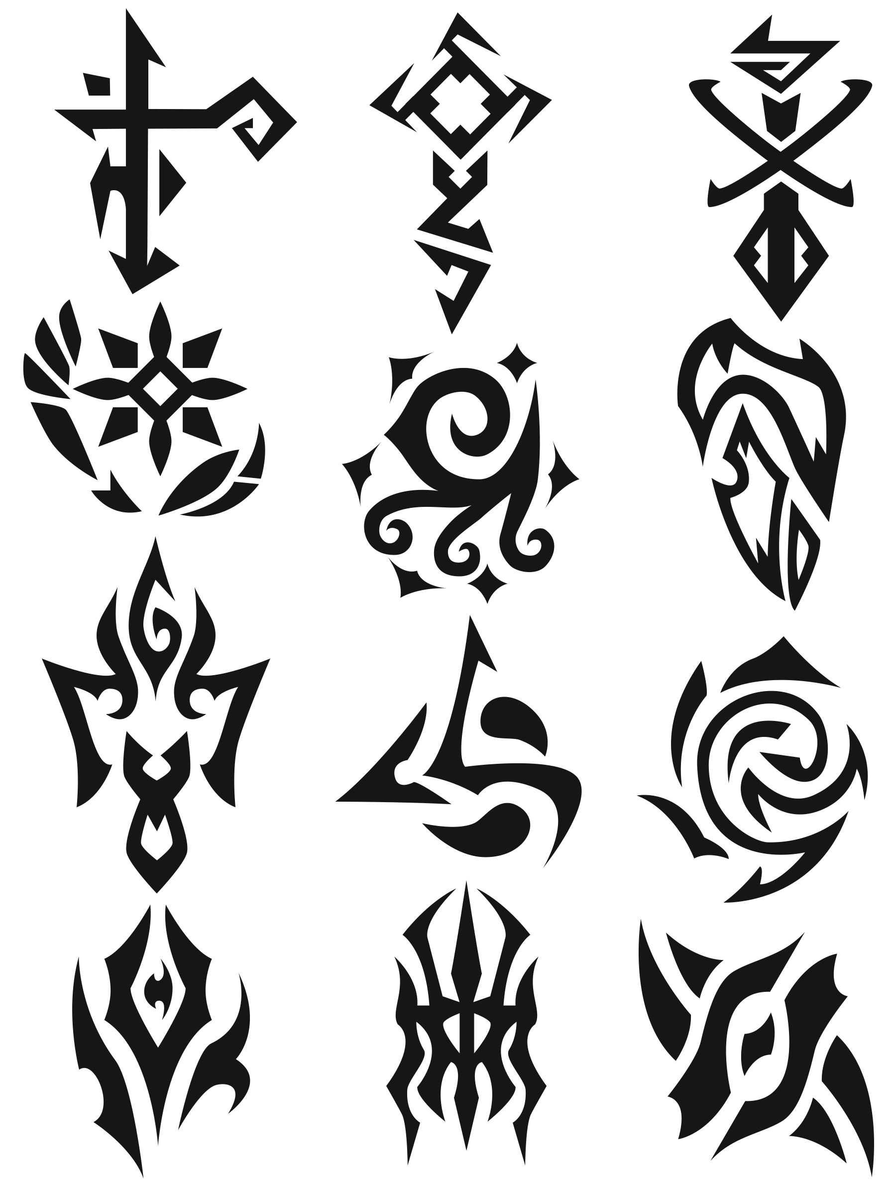 Symbols 1 By Feare909 On Deviantart