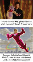 Gay Superhero by Feare909