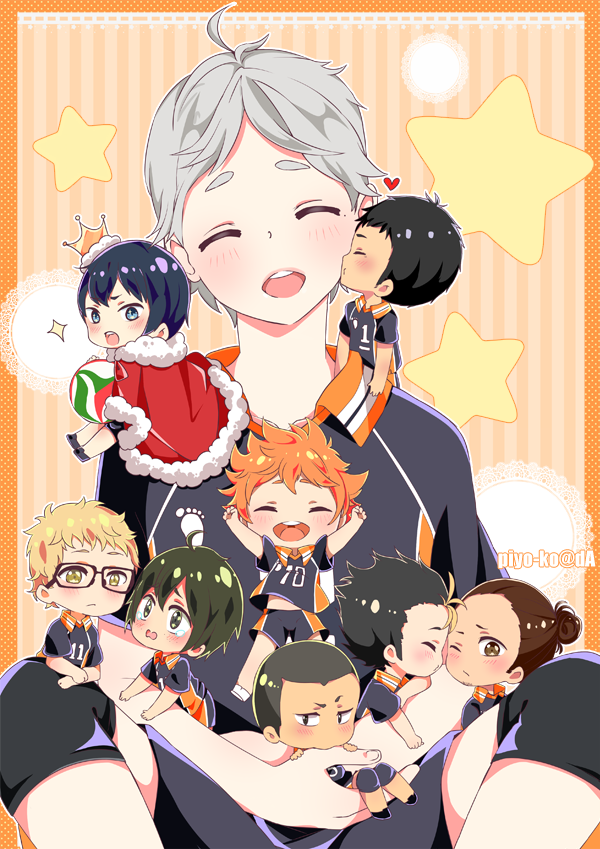 Haikyuu by piyo-ko