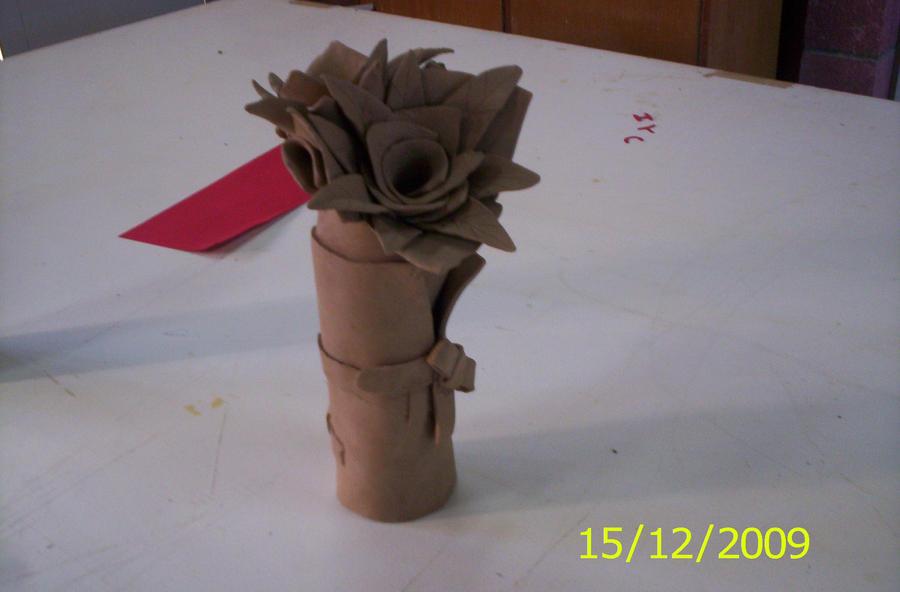 clay vase by titan9393