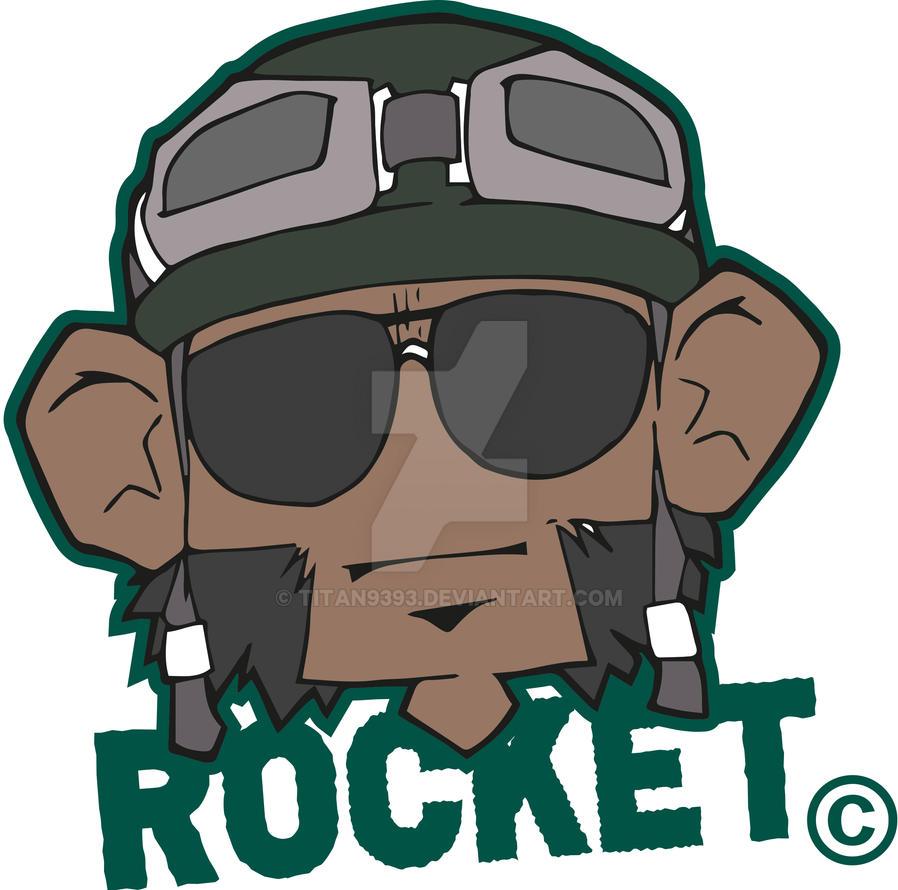 Rocket Monkey by titan9393
