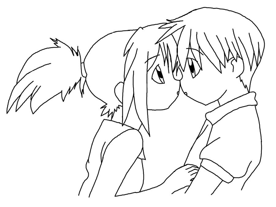 how to draw anime couple