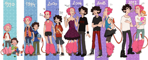 look at them all grown up by OlgaMark