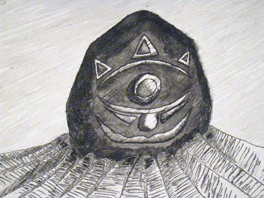 Gossip Stone by Link-Zelda48