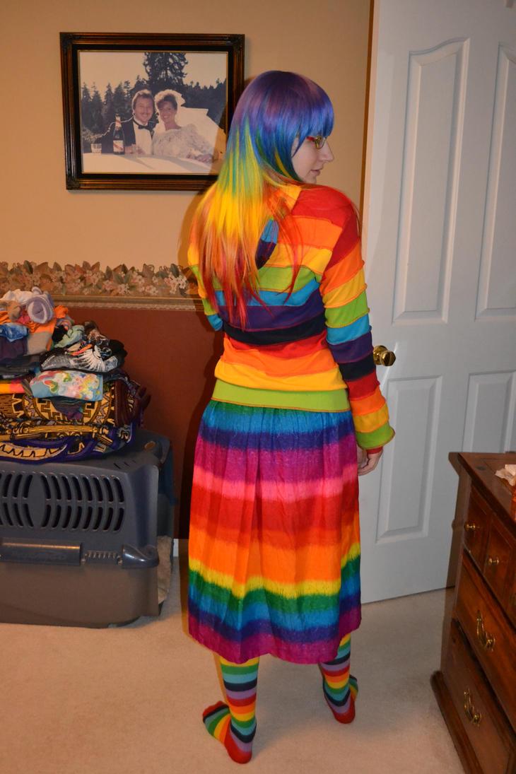 Rainbow Hair and Stuffz by Link-Zelda48