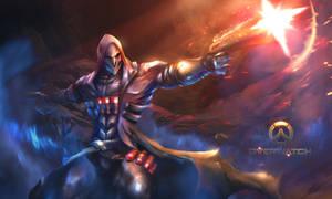 Overwatch Fan art Reaper