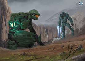 No More Ammo - Halo by SmileyKiller47