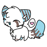 Sticker for XBrightNeonx 2/4 by Hyper-Kitteh