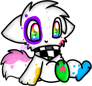 Splatter Paws Plushie by Hyper-Kitteh